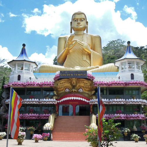 золотой храм, golden temple, dambulla