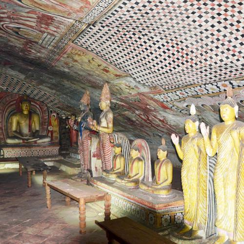 пещерный храм шри ланка